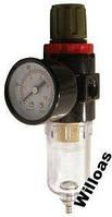 Фильтр воздуха + редуктор 1/4 Intertool PT-1412