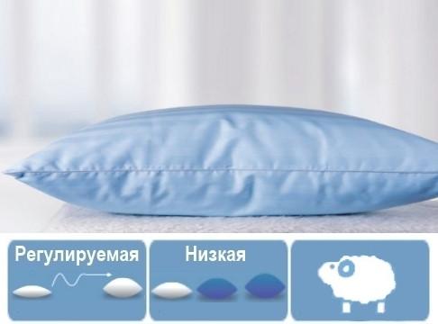 Подушка шерстяная Valentino Premium 70х70  МЯГКАЯ 124