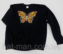 Свитшот женский, с метеликом