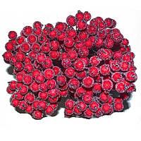 Калина декоративная красная сахарная, соцветие из 40 ягод, диаметр ягоды 12мм, длина проволоки 12см