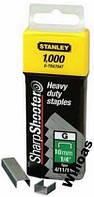 Скоба 10мм 1000шт для степ тип G STANLEY 1-TRA706T