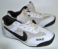 Кроссовки мужские Nike белые, ткань OK-9074, фото 1