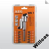 Угловая насадка для шуруповерта дрели AEG WB1