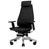 Кресло эргономическое компьютерное GENIDIA LUX COMFORT SEATING (кожаное)