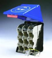 Безопасные боксы для хранения SecuBox Maxi Цвет синий Тип для средств защиты глаз, со стойкой для 12 защитных очков