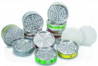 Дыхательные фильтры для респираторов 620 N и 620 S Тип Газовый фильтр 34 ABEK Уровень защиты EN 141-A1-B2-E1-K1