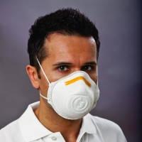 Респираторы Mandil Тип FFP2/V* Описание Маска для защиты органов дыхания