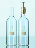 Бутылка культуральная, стеклянная, цилиндрическая Объем 50 мл Диаметр 40 мм Высота 107 мм Диам.горла 18 мм