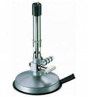 Горелки Бунзена [EN]: Bunsen burners,air regulation,needle valve and pilot flame,natural gas