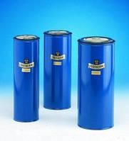 Сосуд Дьюара цилиндрический, для СО2  и жидкого N2 Объем 500 мл Внутреннийдиаметр 57 мм Внешнийдиаметр 70 мм Высотавнутр. 210 мм