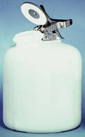 Канистра дозировочная, 20 л, ПЭВП, для агрессивных жидкостей, с клапаном сброса давления