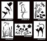 Трафарет дизайнерский artFauna 35, Кот и мышь, 64*44см, фото 3