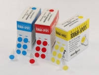 Этикетки для глубокой заморозки TOUGH-SPOTS® Диаметр  мм Цвет