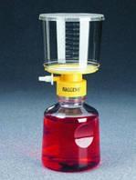 Системы стерильной фильтрации, мембрана из ацетата целлюлозы без ПАВ Объем 250 мл Размерпор 0,45 мкм Диаметрмембраны 50 мм