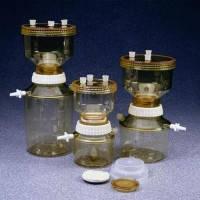 Системы вакуумной фильтрации Тип 300 Тип 300 Объемверхней части 500 мл Объембутыли 1000 мл Диаметр 114 мм Высота 293 мм