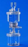 Аппарат для вакуумной фильтрации или пресс фильтрации, тип 16510, ПС Тип Аппарат фильтрации из полистирола Объем 250 мл Размерфильтра диам. 47 мм мм