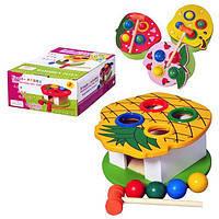 Деревянная игрушка Стучалка MD 0324 Metr+