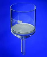 Фильтрующая воронка Шотта, Борсиликатное стекло 3.3 Объем 500 мл Пористость 4 Диаметр 90 мм Диам.трубки 22 мм