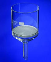 Фильтрующая воронка Шотта, Борсиликатное стекло 3.3 Объем 1000 мл Пористость 1 Диаметр 120 мм Диам.трубки 22 мм