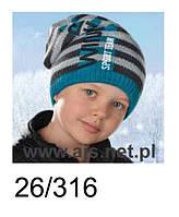 Шапка для мальчика  Winter sport team