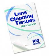 Салфетки для очистки линз, 150 мм х 100 мм, 500 шт./уп.