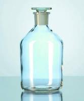 Бутыль для реактивов, темное стекло, узкое горло, 250 мл, Duran
