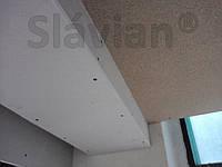 Применение: Гипсокартон. Короба вдоль стены со скрытой нишей.