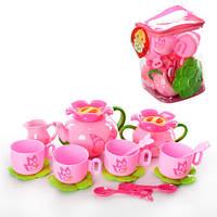 Посуда H1530 (48шт) чайный сервиз на 4 персоны, в сумке, 19-14-14см