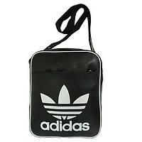 Молодежная сумка-планшет, кожзам, вертикальная, фото 1