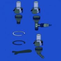 Адаптеры для трубок для холодного и гарячего соединений