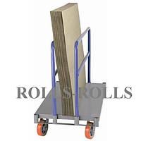 Тележка для перевозки гипоскартона, каркасной мебели ZRR25