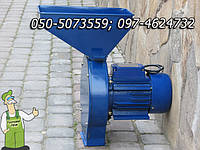 """Дробилка зерна в надёжном металлическом корпусе увеличенной производительности 1.8кВт - """"Помощник - ДТ-1"""", фото 1"""