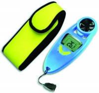 Гигрометры [EN]: Handheld anemometer wind speed: 0,2 to 30m/s temperature: -30...+60°C