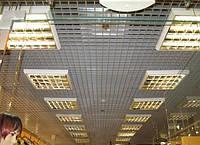 Подвесной потолок решетчатый Грильято 75х75