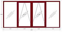 Система GU-966/150  mZ  штульповая (дверная для ПВХ и дерева). Масса створки до 150 кг