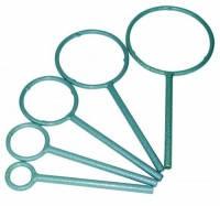 Кольца штативные Тип с крепежным узлом Внешнийдиаметр 100 мм Масса 236 г