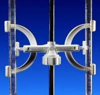 Держатель бюреток [EN]: Burette clamp, for 2 clamps, PP for rods 8 - 14 mm diam.