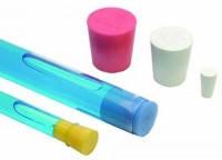 Пробки силиконовые Диаметрснизу 11,0 мм Диаметрсверху 15,0 мм Высота 22,0 мм Цвет розовый