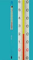 Термометр с внутренней шкалой Диапазон измерения  °C Длина 105 мм Заполнение