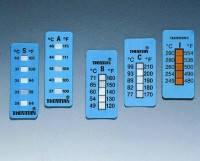 Одноразовые 5-точечные полоски Thermax® для измерения температуры, 35х15 мм, диапазон измерения: +104 ... +127 °C, 10 шт./уп.