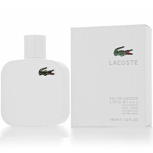 Lacoste Eau de L.12.12 Blanc туалетная вода 100 ml. (Лакоста Еау Де Лакоста 12.12 Бланк)