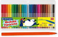 Фломастеры Пингвины/Слон 30 цв.