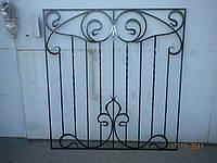 Кованые решетки прямые арт.кр 28, фото 1