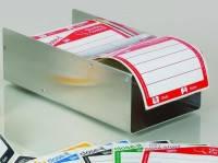 Наклейка-лента контрольная для отбора проб close-it Tape Food, белая, 95 x 95 мм, рулон 50 м