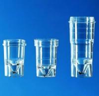 Спектрофотометры Объем 1,5 мл Диаметрсверху 15,0 мм Диаметрснизу 12,2 мм Дно Высота 22,7 мм