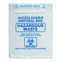 Пакеты для утилизации опасных отходов, автоклавируемые, ПП, 415х600 мм, уп. 50 шт.