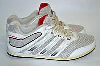 Кроссовки женские Adidas №К2063 серая сетка с белым OK-9090, фото 1