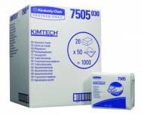 Салфетки KIMTECH* 7505 Салфетки KIMTECH* Упаковка Упаковка 50 листов