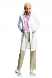 Халат лабораторный для женщин и мужчин [EN]: Laboratory coat size XS 100 % cotton - LLG-Ukraine - комплексное оснащение лабораторий в Киеве