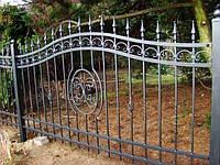 Кованый забор арт.16, фото 1